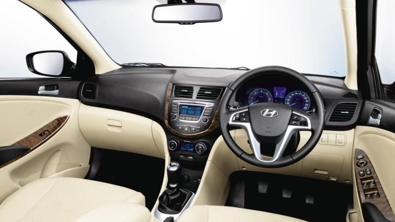 Hyundai Verna Fluidic IndyaCars