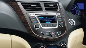 Hyundai Verna-interior