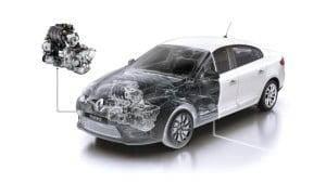Renault Fluence-engine