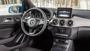 Mercedes-Benz-B class interior