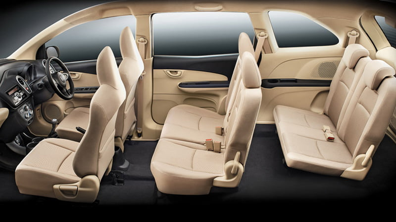 8 Seater 7 Seater Honda Mobilio Interior David Kosse
