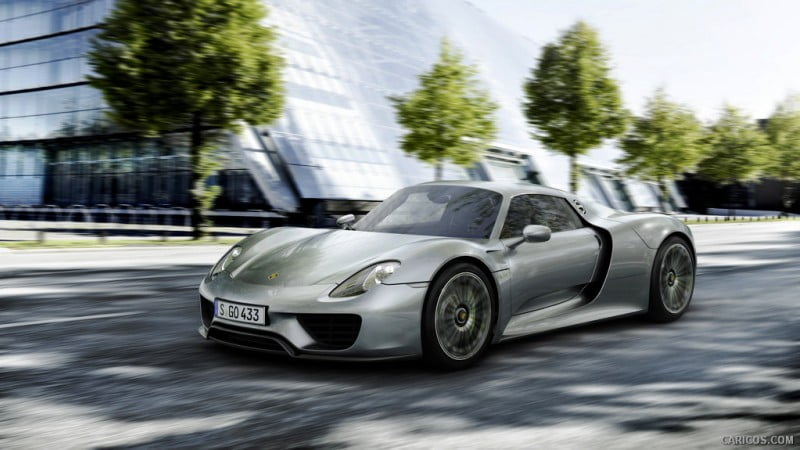 Porsche 918 Spyder_featured