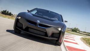 BMW i8 Hydrogen Fuel Cell Prototype