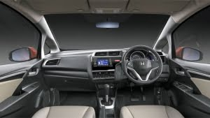 Honda Jazz interior