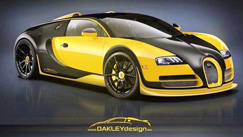 Oakley Design Bugatti Veyron -1