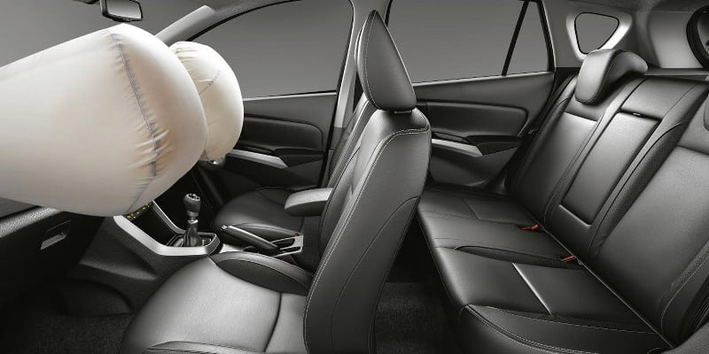 S Cross airbags