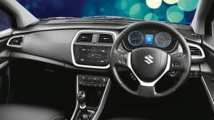Suzuki S Cross interior