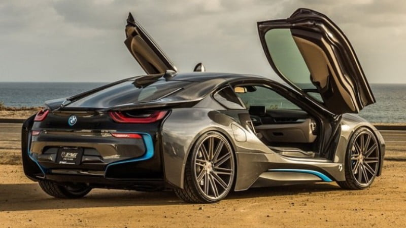 Tag Motors 2015 BMW i8 on Vossen Forged VPS-309