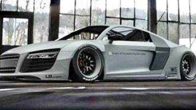 liberty-walk-r8- sema 2015-2 - Copy - Copy
