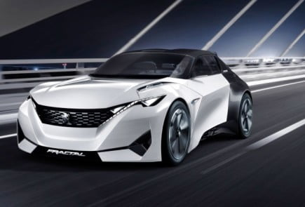 Peugeot Fractal Concept -8