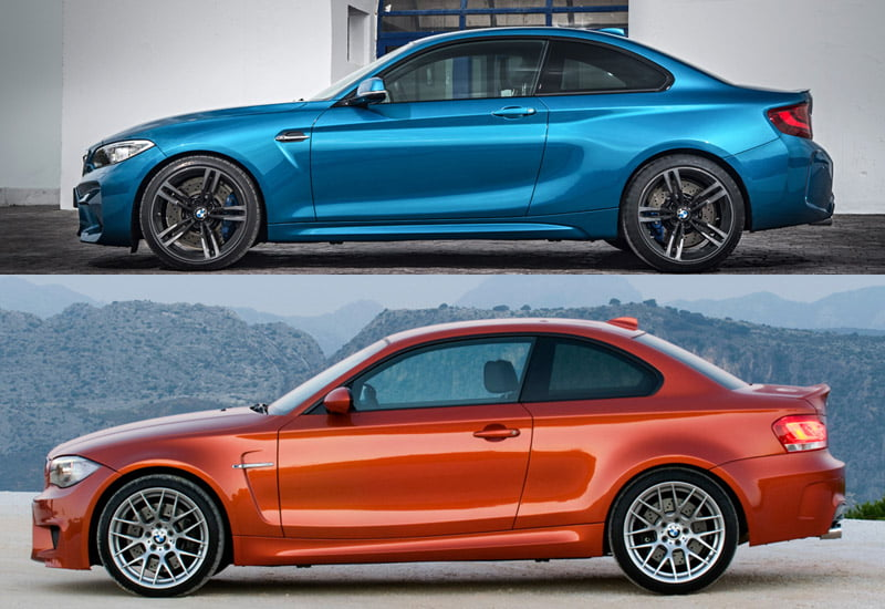 BMW M2 and 1M