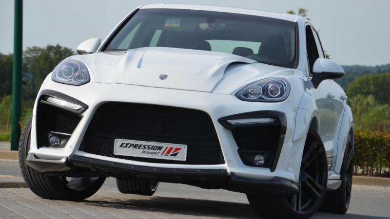 The Expression Xr Wide Body Kit For 2015 Porsche Cayenne