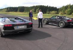 Porsche-918-Spyder-vs-Lamborghini-Aventador