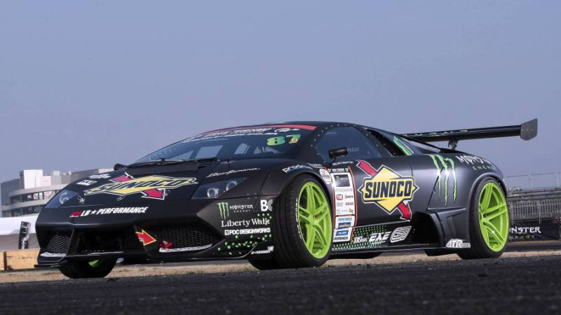 Worlds First Monster Energy Lamborghini Drift Car Unveiled Indyacars