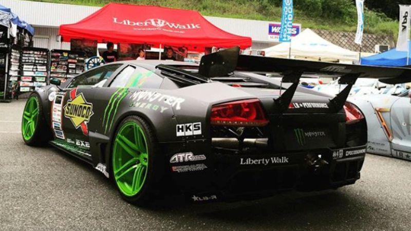 Lamborghini Drift Car