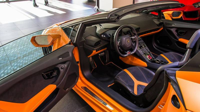 huracan interior orange. lamborghinihuracanspyder2 huracan interior orange 1