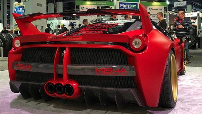 Misha Design Ferrari 458 on Savini Wheels