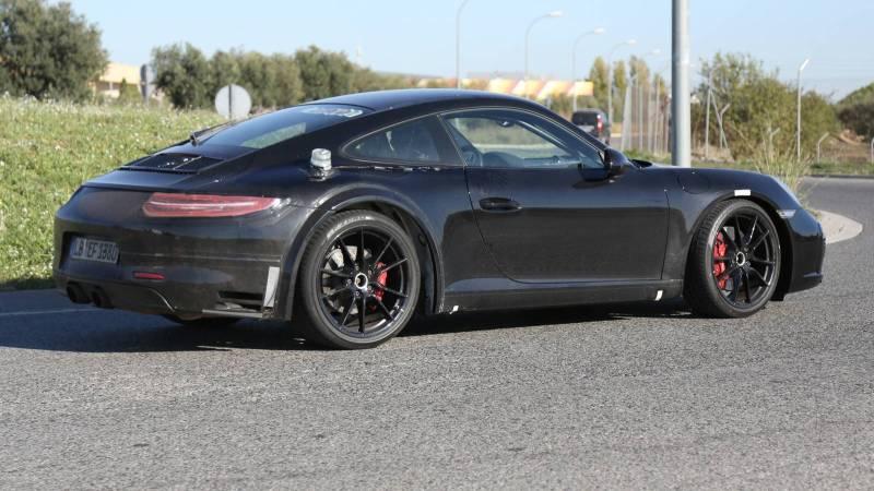 2018 Porsche 911 Mule