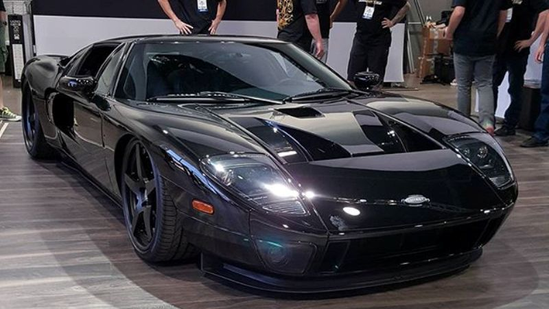 The Gas monkey garage Ford GT40