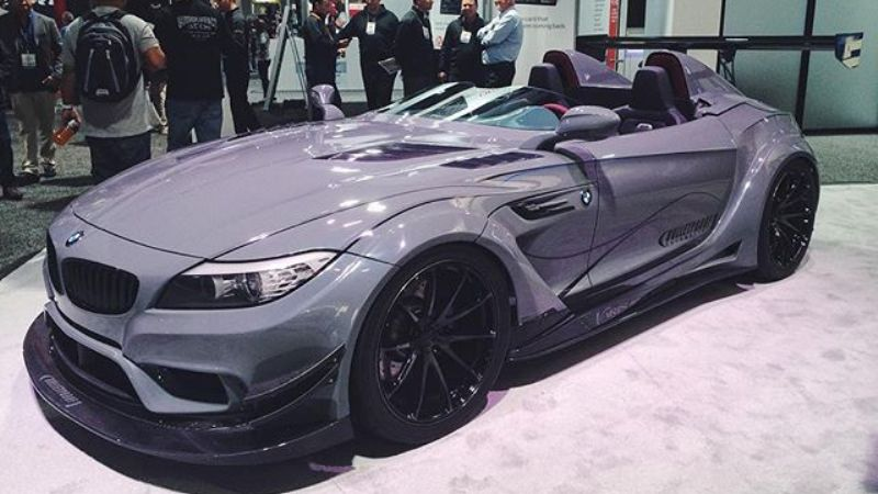 Bulletproof Automotives Bmw Z4 Gt Continuum Indyacars