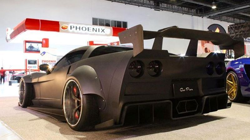Black Manta WideBody Corvette C6