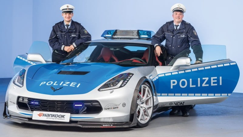 2015 German Police C7 Stingray-1