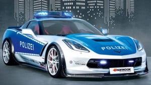 2015 German Police C7 Stingray-5