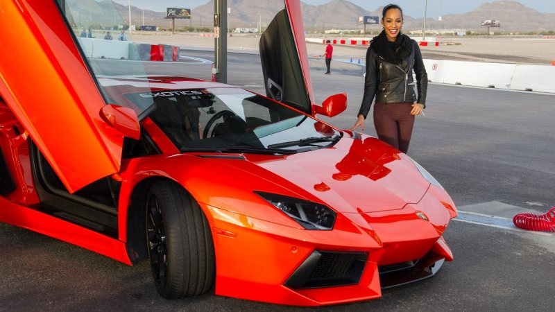 Miss universe 2015 beauties with exotic Supercars
