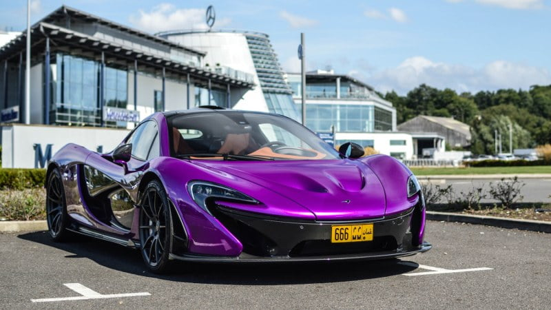 INSANE Purple MSO McLaren P1