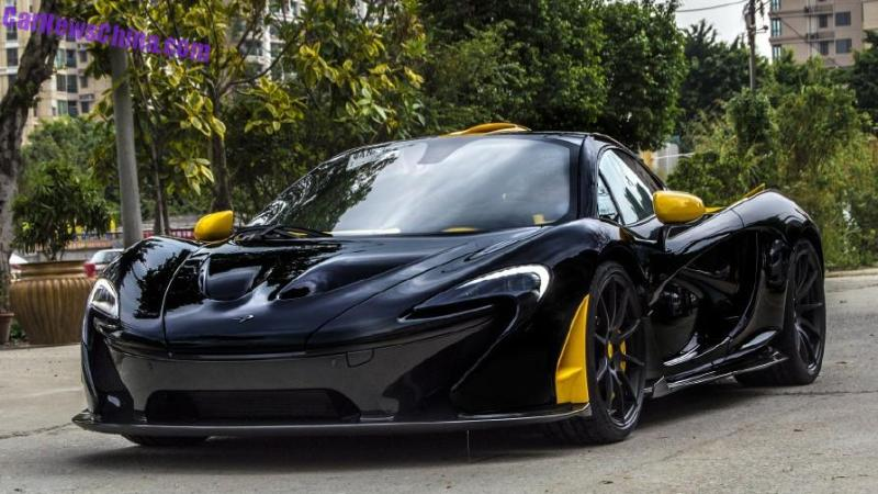 MSO P1 in Black with Yellow accents -China