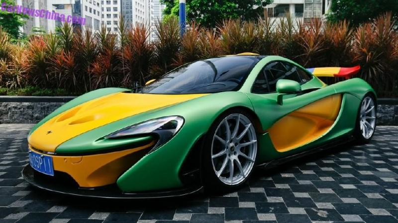 MSO P1 in LimeGreen and Yellow spotted in china