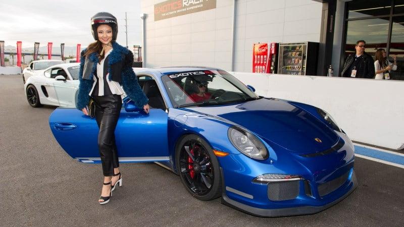 Seoyeon Kim with Porsche 991 Turbo