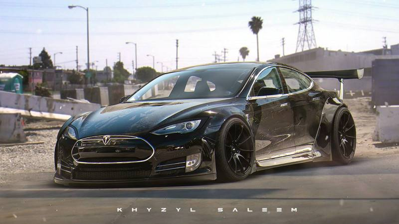 Liberty Walk Tesla