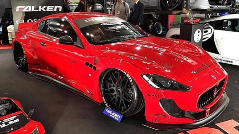 First Liberty Walk Maserati GranTurismo Unveiled