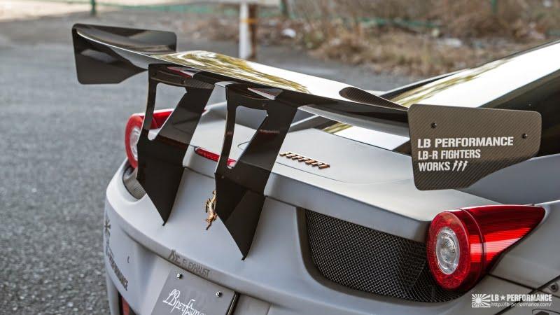 Liberty Walk Ferrari 458 -7