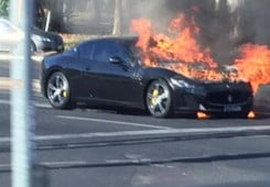 MC Stradale catches fire in Australia-1