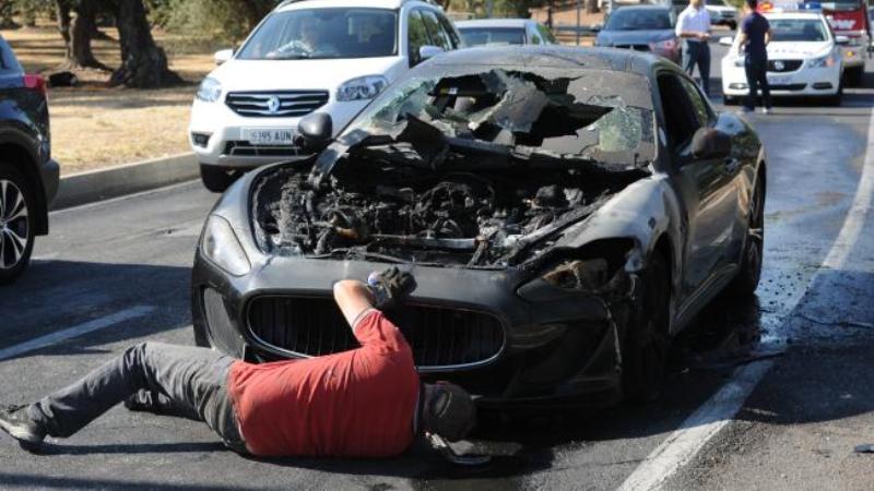 MC Stradale catches fire in Australia-2