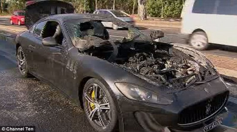 MC Stradale catches fire in Australia-3