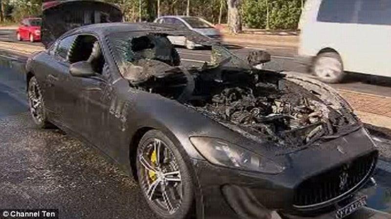 MC Stradale catches fire in Australia-3