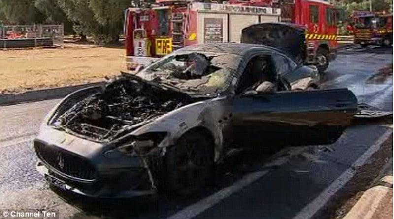 MC Stradale catches fire in Australia-4