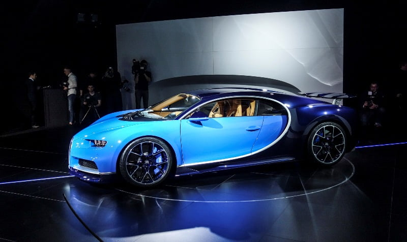 1500HP Bugatti Chiron revealed at 2016 Geneva Motor Show - IndyaCars