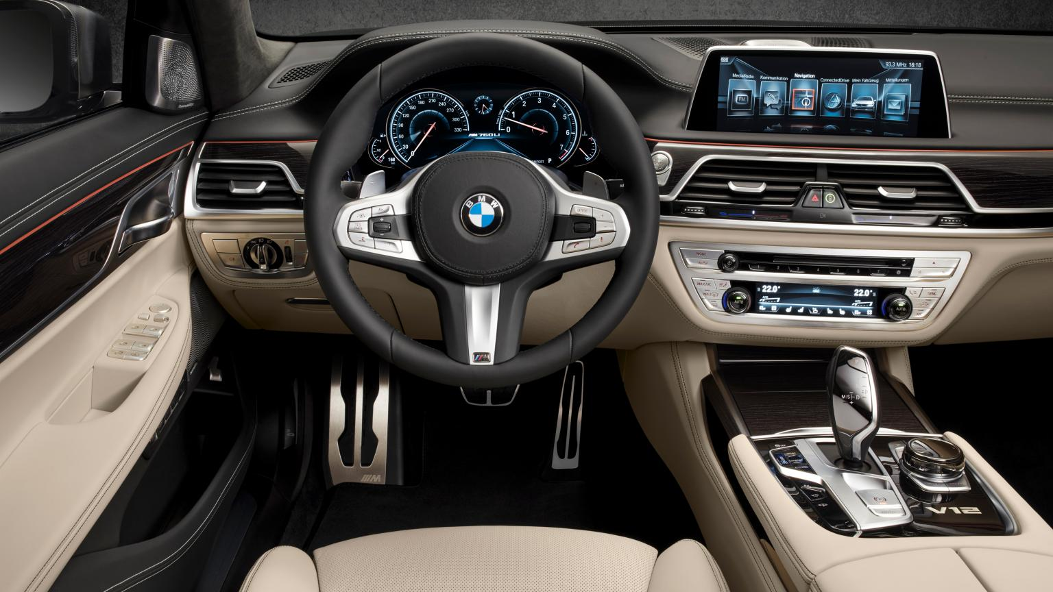 Bmw Unveiled 600hp 2017 Bmw M760li Xdrive Luxury Sedan