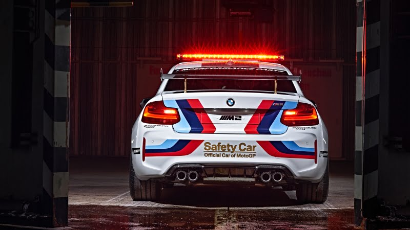BMW M2 Coupe Moto GP Safety Car -4