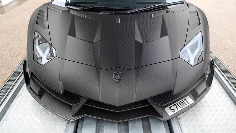 Lamborghini Aventador SV Mansory-5