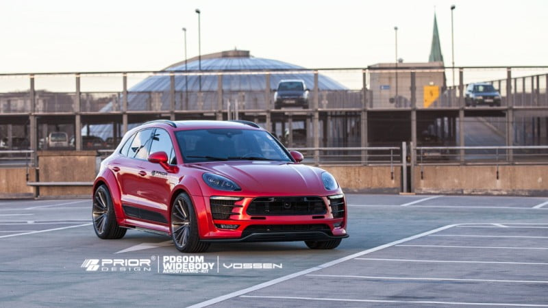 Priordesign Widebody Porsche Macan -10