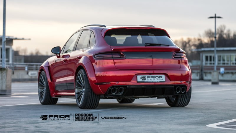 Priordesign Widebody Porsche Macan -14