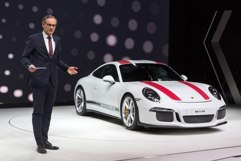 2017 Porsche 911R-1