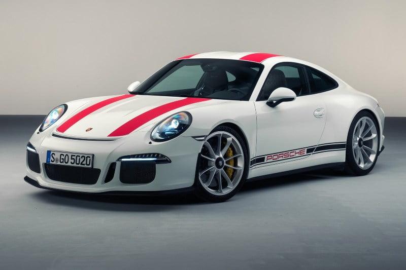 2017 Porsche 911R-4