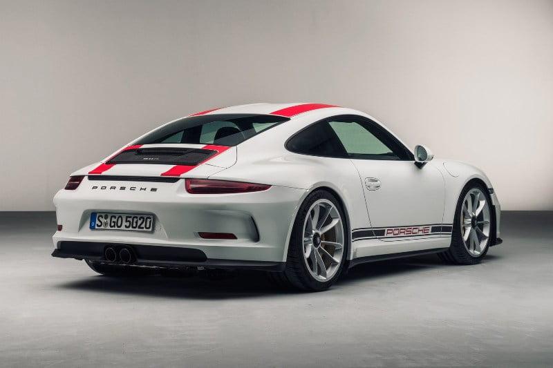 2017 Porsche 911R -5