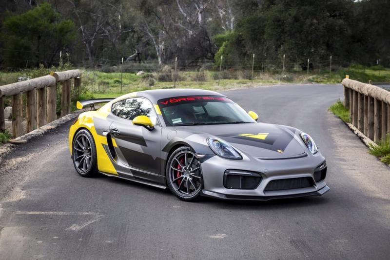 Vorsteiner Porsche Cayman GT4 -1